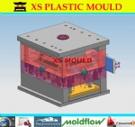 Plastic LED TV mould