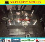 Plastic jewel box mould
