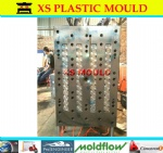 Valve PET preform mould