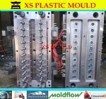 Nonself-lock PET preform mould