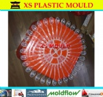 Plastic disposible cutlery mould