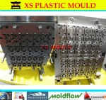 Plastic closure mould