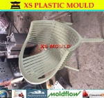 Plastic wicker chair mould
