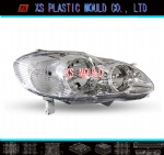 Vehicle lamp mould